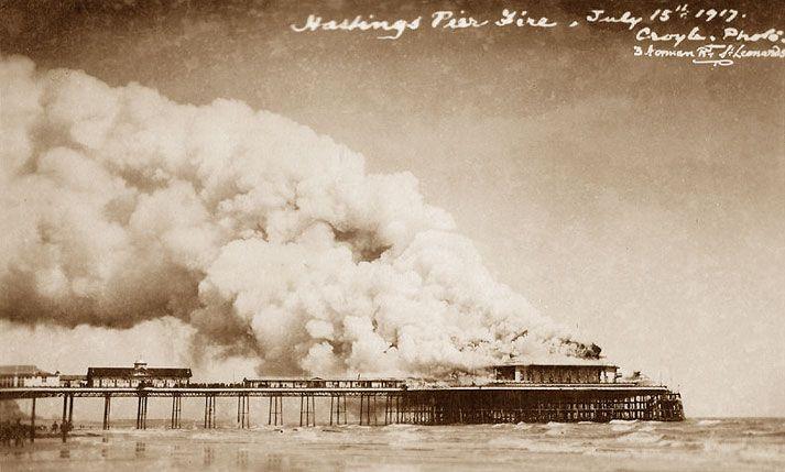 Pier Fire 1917.