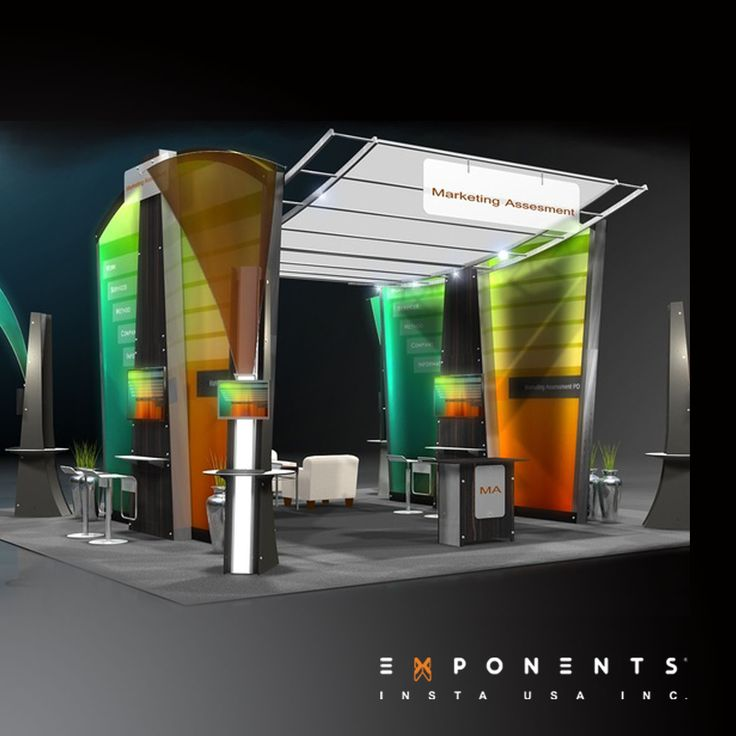 Trade Show Booth Kiosks : Curated trade show display designs ideas by