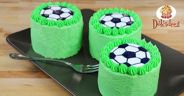 Mini cake per gli europei di calcio