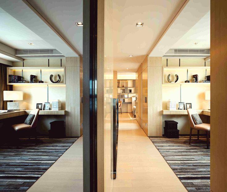 Study Room Design Showflat Serenade Hong Kong RLP Designer Alistair Leung
