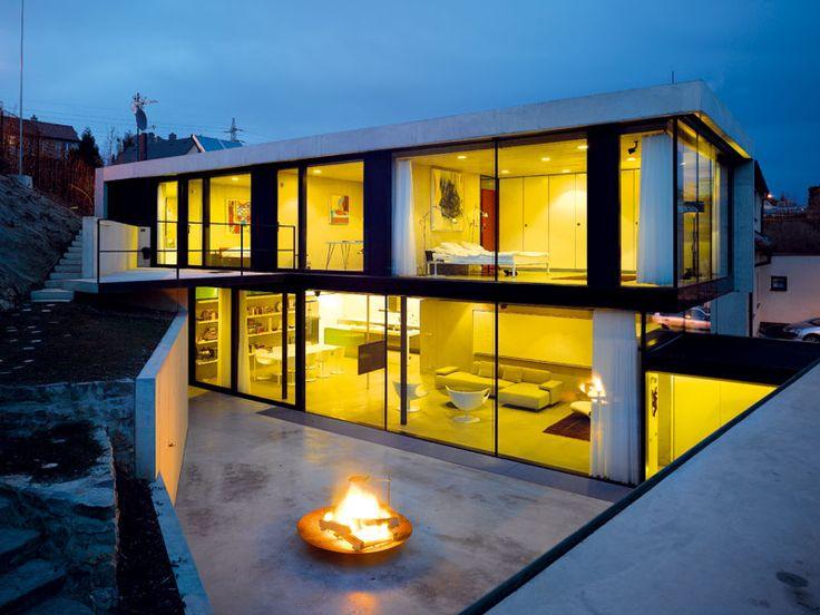 Superb Dum, Beton, Stavba House Of Concrete