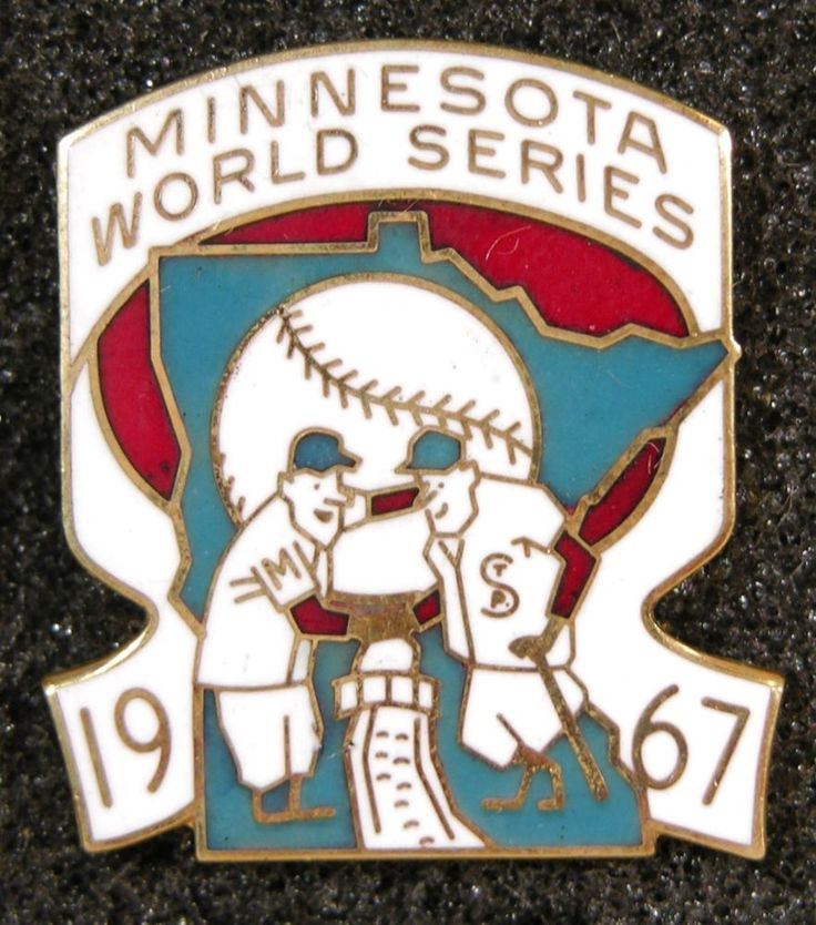 Details About 1991 Minnesota Twins World Series Press Pin W Case By Jostens