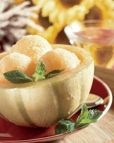 Îngheţată de pepene galben | Retete culinare - Romanesti si din Bucataria internationala