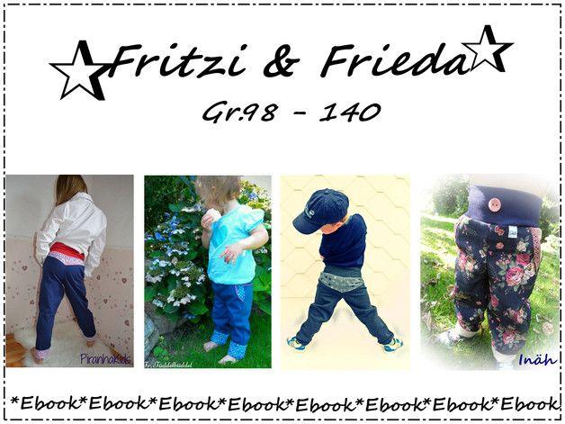 Nähanleitungen Kind - ♥Fritzi&Frieda♥EBook - ein Designerstück von Frau-Ninchen bei DaWanda