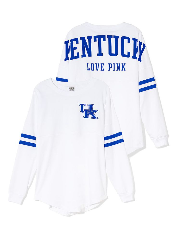 University of Kentucky Varsity Crew-Victoria's Secret's take on the spirit jersey! Description from pinterest.com. I searched for this on bing.com/images