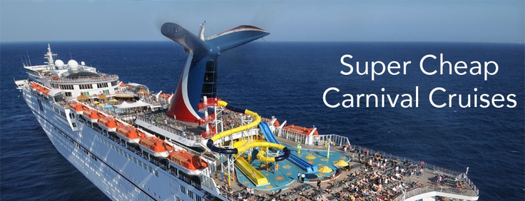 Carnival Cruises on the cheap!
