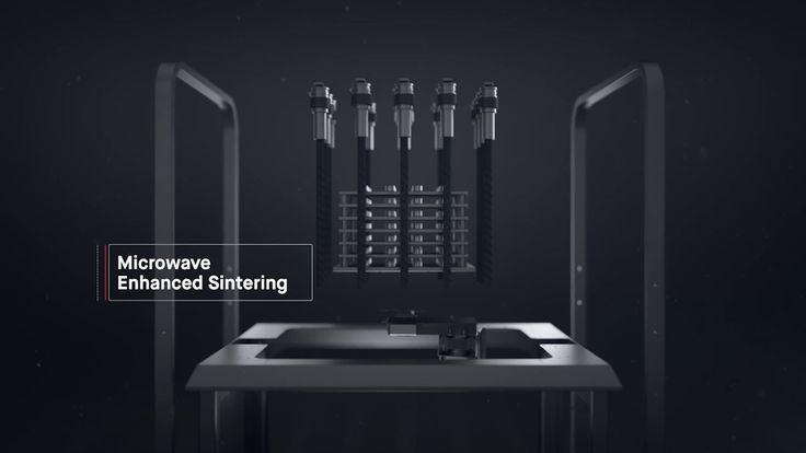 Sintering Multiple Parts – Desktop Metal's Studio System includes a fully-automated, office-friendly sintering furnace with fast cycle times and a peak temperature of 1400°C, allowing for the sintering of a wide variety of materials.