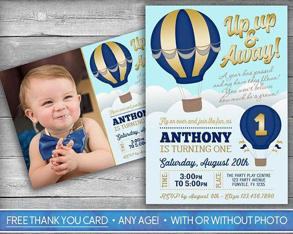 hot air balloon invitation hotair