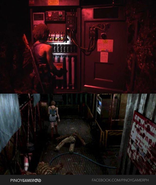 Resident Evil 3 Remake Vs Original Gameplay Comparison Part 1 Residentevil Residentevil3 Re3 Pinoygamer In 2020 Resident Evil 3 Remake Pinoy Resident Evil