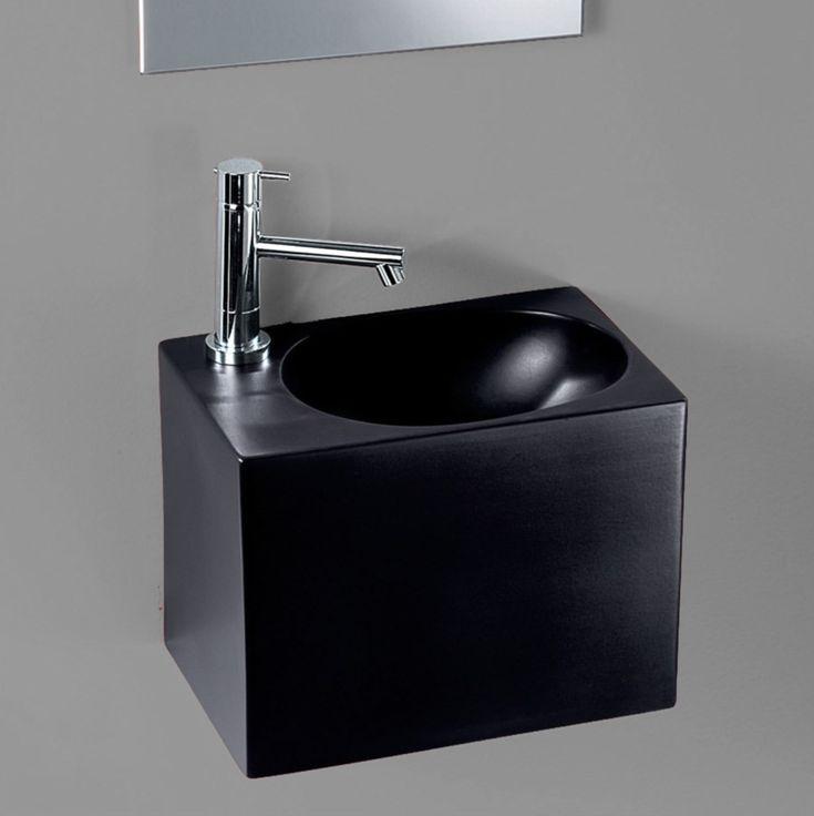 Lille håndvask i firkantet design