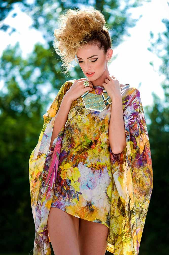 SUMMER BUTTERFLY DRESS