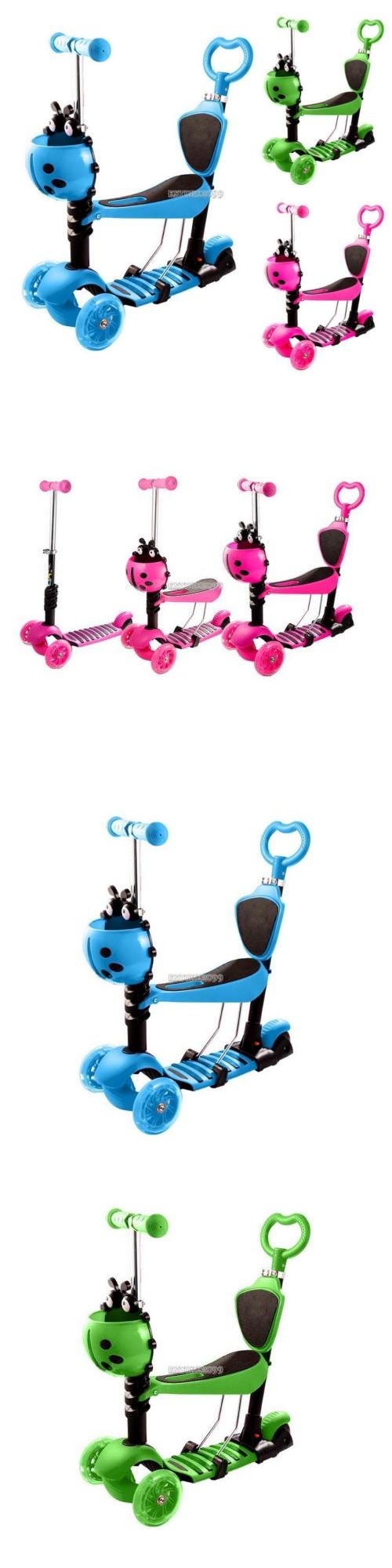 Kick Scooters 11331: Kids Scooter For Kids - Deluxe Aluminum 3 Wheel Glider With Kick N Go -> BUY IT NOW ONLY: $35.66 on eBay!