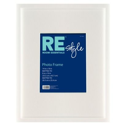 room essentials wood frame white