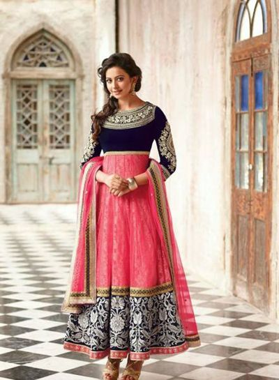 Unique Eid Frocks Collection Of IndiaAnarkali Frocks 2014 (6)
