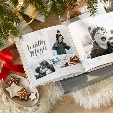 New to Shutterfly? Capture all the joy of the holidays with a FREE easy-to-make photo book. Offer ends December 31, 2017.