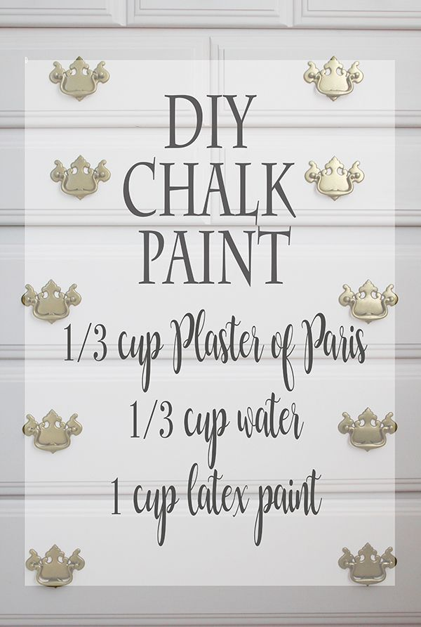 How to Make DIY Chalk Paint (Lola's Room Makeover Begins!) | Less Than Perfect Life of Bliss |