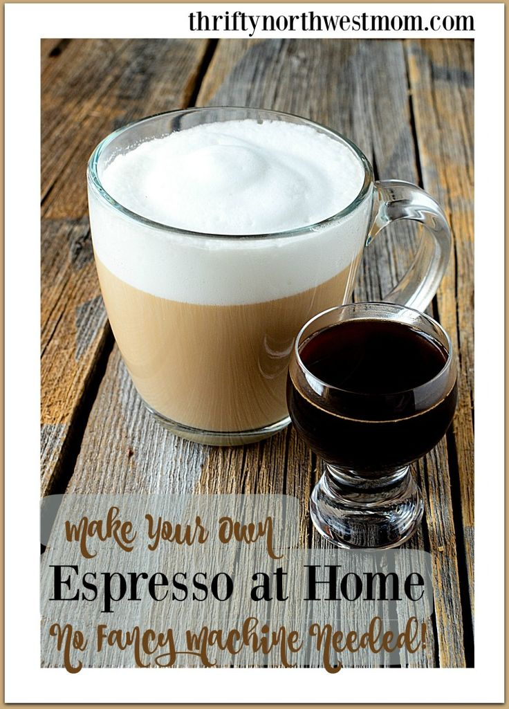 How to make espresso without a machine! Living in Seattle, we love our coffee! There are a many coffee shops around, but I like to be able to make a great cup of espresso before I even leave the house. Well, more accurately, a creamy foamy latte (hazelnut is my flavor of choice this …