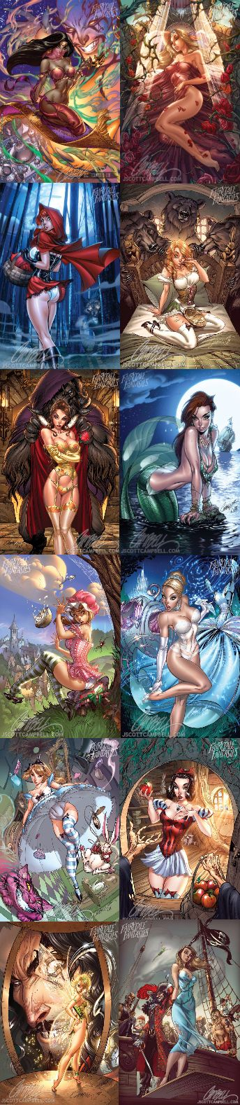 J. Scott Campbell's Fairytale Fantasies :)))