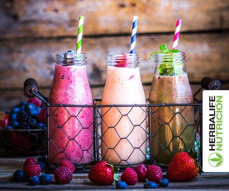 Añade fruta a tu Batido Nutricional Herbalife y lleva tu experiencia de sabor a otro nivel ¿Cuál es tu mezcla favorita?