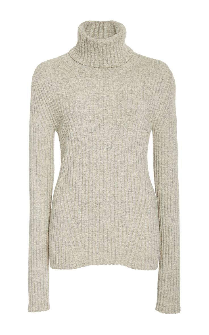Lila Ribbed Turtleneck Sweater by ELEVEN SIX for Preorder on Moda Operandi