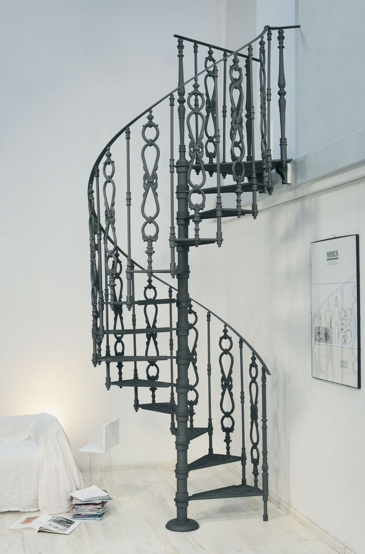Cast-iron spiral staircases – 2050 E Ø 140 cm – Decorated with geometrical and floral designs. http://www.modus.sm/en/products/spiral-staircases/cast-iron-starcases/diameter-140/2050-e----140-cm/2050-e.asp?ID0=1291&ID0_=1291&ID1=1314&ID1_=1314&ID2=2625&ID2_=2625&ID3=1337&ID3_=1337&ID4=1751&ID4_=1751&IDProdotto=2621&L=EN  #Modus #ModusStaircase #indoorfurniture #inspiration #castiron #staircase #spiralstaircase #ghisa #scaleachiocciola #floralornament #design #interiordesign #architecture…