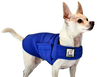 VIZSLA Tummy Warmer Dog Coat Fleece Dog Coat by VoyagersK9Apparel
