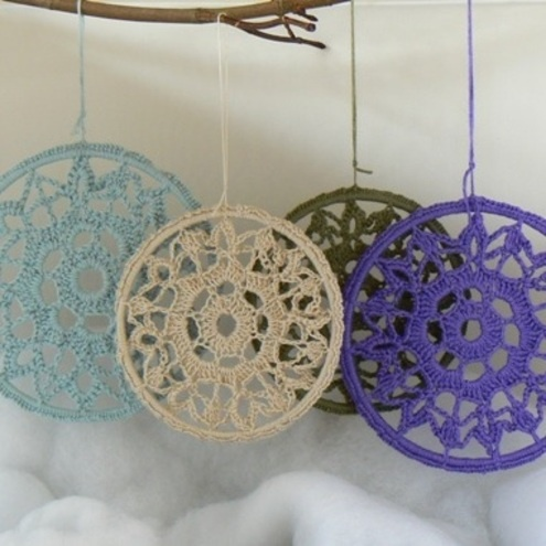 1000 Images About Crochet Snowflakes And Icicles On