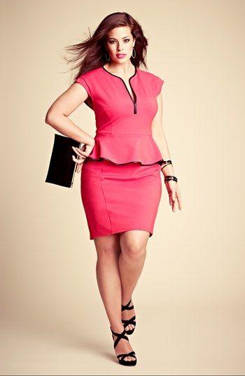 Peplum Dress #plus #size