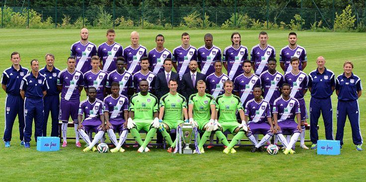 Overzicht spelers eerste ploeg RSC Anderlecht