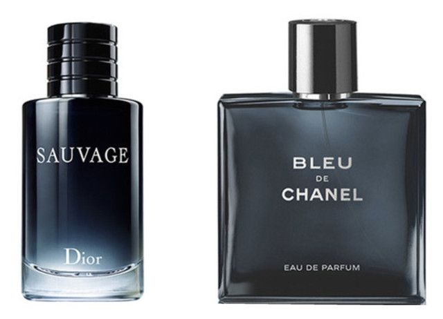 Dior & Chanel for men by eboutic.ch by eboutic-accessories on Polyvore featuring men's fashion, menswear, Chanel, Dior, bleu, homme and sauvage
