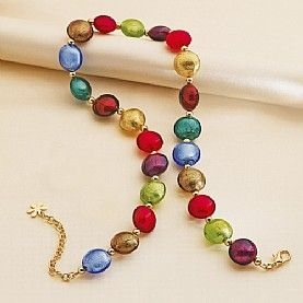 Renaissance Murano Glass Necklace