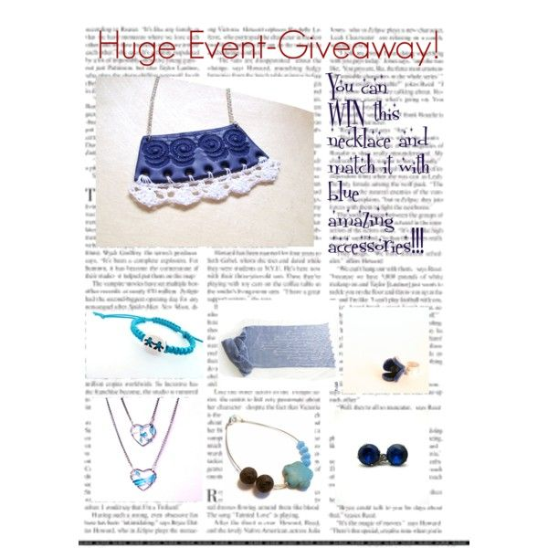"""HUGE EVENT - GIVEAWAY"" by efzin on Polyvore"