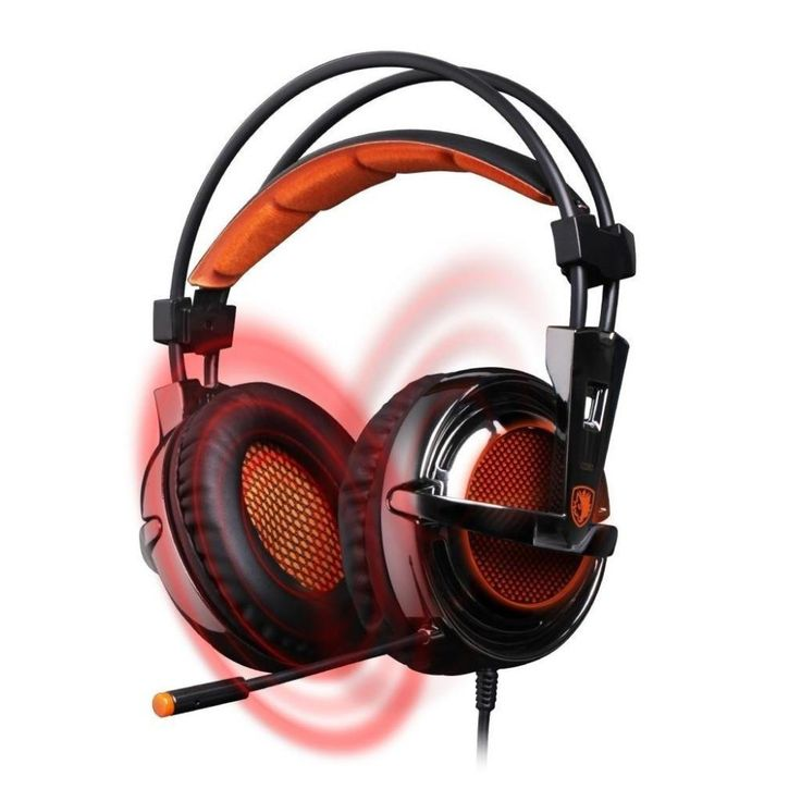 Sades 7.1 Surround Sound USB Vibration Gaming Headset Headphones Stereo Bass and Mic for PC Gamer. Check out the photos for detailed images of this product.