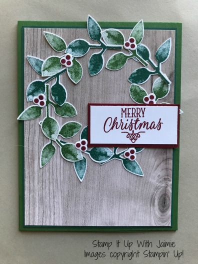 Stampin' Up! Painted Harvest bundle punch
