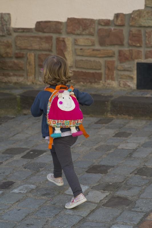 Huguette the goat backpack