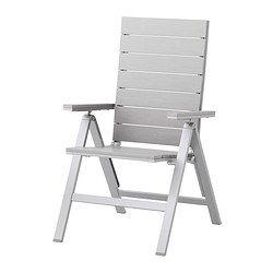 FALSTER Reclining chair - gray - IKEA