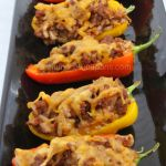 Stuffed Mini Peppers - Easy Stuffed Pepper recipe