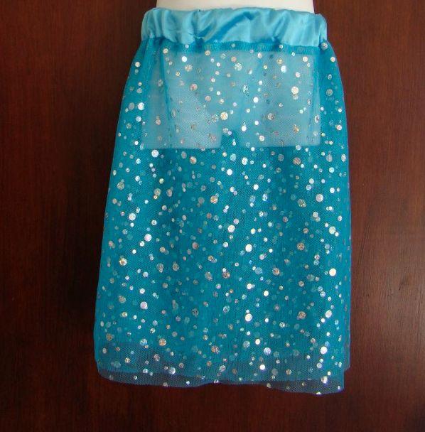 Fairy Skirt in blue by Libbydid.