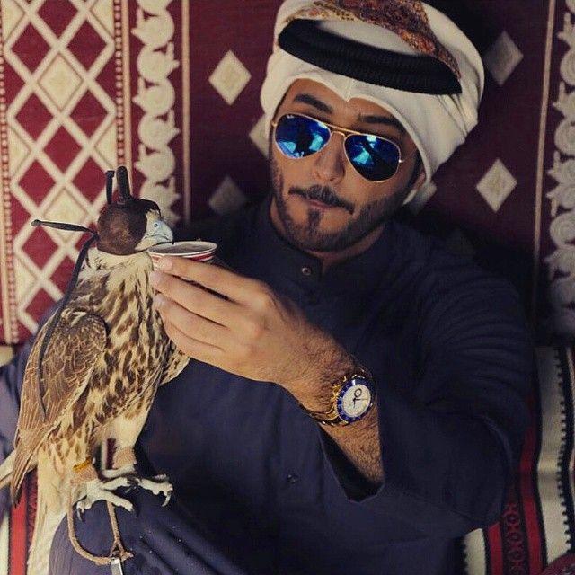 Saudi guy . . . . _________