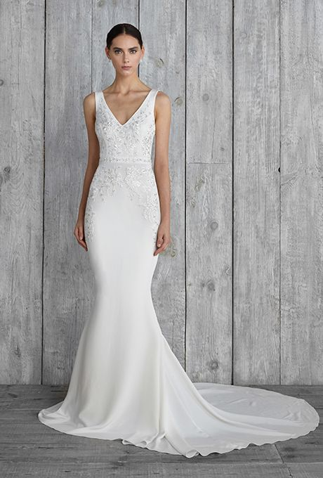Best 20  Sheath Wedding Dresses ideas on Pinterest | Soft wedding ...