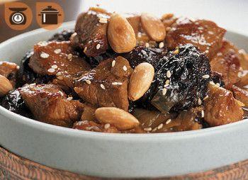Tajine de Veau de grain du Québec à la marocaine
