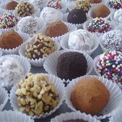 Easy Decadent Truffles Allrecipes.com