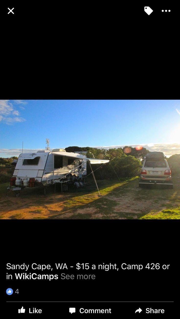 Sandy Cape Campground  WA Dog friendly  WikiCamps