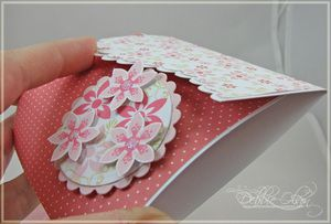 Celebrate Today Birthday Gift Card Folder - instructions on how to cut/emboss only partial dies