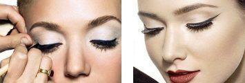 Come mettere l'eyeliner senza errori, il metodo del cucchiaino