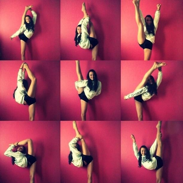 Ok I don't cheer or dance but I think it'd be cool to be able to do this one day
