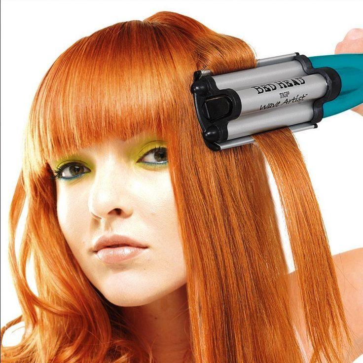 Deep Waver Hair Curling Iron Bed Head Waver Deep Waver Iron Hair Deep Waver #BedHead