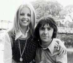 Sally Thomsett and Richard O'Sullivan: Man About the House. They were an 'item' for three years.