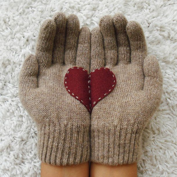 Heart Gloves <3 @Nanalulus Linens and Handkerchiefs Linens and Handkerchiefs @Brittany Horton Dick