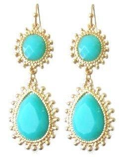 Indira Goldtone Fashion Earrings Maggie T New York